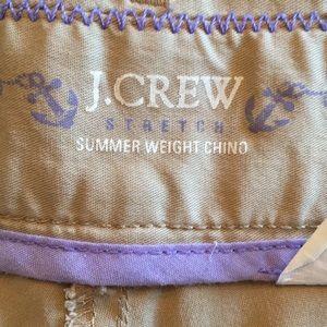 J. Crew Shorts - J. Crew Summerweight Chino Shorts